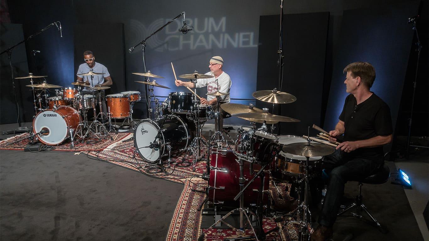 Drum Jam With David Garfield