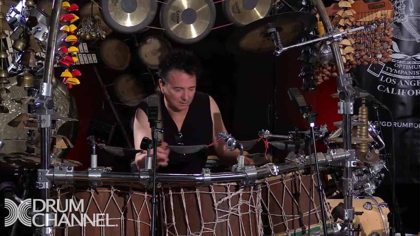 Big Drum Bonanza with Thomas Lang & Terry Bozzio   Part 1